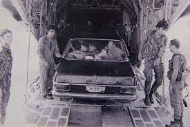 The car that was used for the Mission