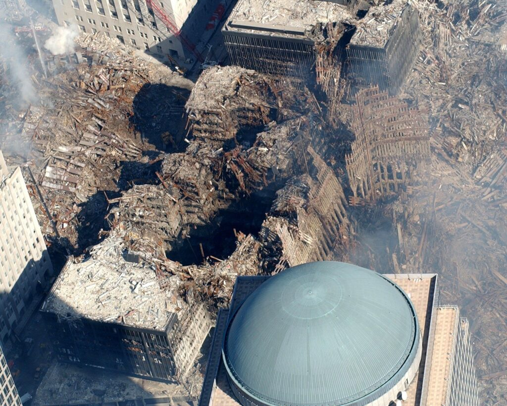 The historical attack on September 11 on America